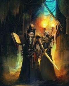 alexboca architecture book chainsword imperium inquisition sword