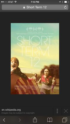 Wow..blown away by the excellent film on Netflix..the heart wrenching and heart warming film revolves around the supervisor at a residential home for kids..the occupants and their stories both unravel and free the young youth counselor..a must see! http://shortterm12.com