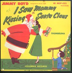 Jimmy Boyd I Saw Mommy Kissing Santa Claus record
