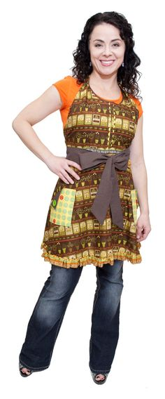 Full apron with wrap around ties 2 pockets and by FunAndFancyGifts, $45.00