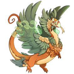 superizumo's dragon Carrot - Breed, raise, and train dragons on Flight Rising!
