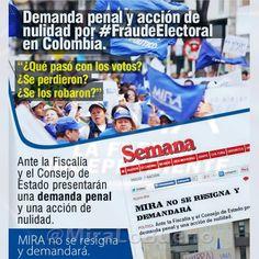 #FraudeElectoral contra #Mira