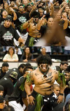 University of Hawaii at Manoa Warriors - mascot Vili The Warrior