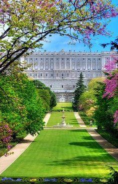 Palacio Real  de Oriente, Madrid, España
