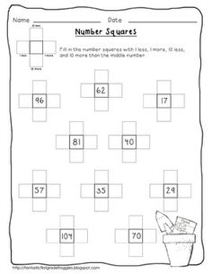 Garden- Math Center Fun (Spring)