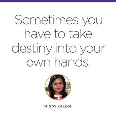 Mondays are for #motivation, and for #Mindy.