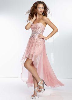 572f255e7d65 Mori Lee 95096 - Ballet Slippers Pink Strapless Prom Dresses Online   thepromdresses Homecoming Dresses