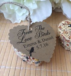 Hey, I found this really awesome Etsy listing at https://www.etsy.com/listing/263146780/50-custom-bird-seed-favors-heart-wedding