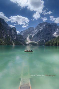 found my next summer vacation goal - Lago di Braies