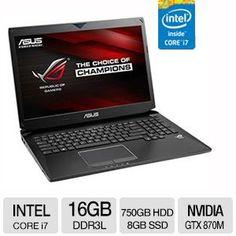 """ASUS ROG 17.3"""" 4700 HQ Blu-Ray 16GB Gaming Laptop"""
