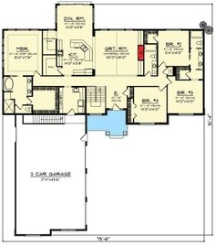 Northwest House Plan with Lots of Amenities - 890028AH | 1st Floor Master Suite, Bonus Room, Butler Walk-in Pantry, CAD Available, Craftsman, In-Law Suite, Jack & Jill Bath, Northwest, PDF, Split Bedrooms | Architectural Designs