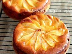 洋梨のアーモンドケーキの画像