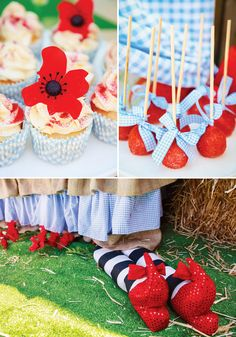 Wonderful Wizard of OZ Party Ideas: Incredibly Magical Wizard of Oz Birthday Party: The treats