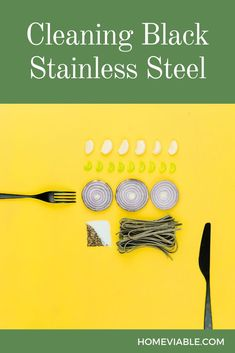 Black stainless steel needs to be cleaned regularly to keep it looking like new. Check out this article on how to clean black stainless steel. #homeviable #cleaningguide #blackstainless #cleaningDIY Stainless Steel Utensils, Stainless Steel Appliances, Black Stainless Steel, House Cleaning Tips, Deep Cleaning, Cleaning Hacks, Best Cleaner, Oven Cleaner, All Natural Cleaning Products