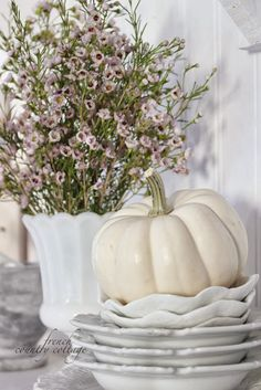 FRENCH COUNTRY COTTAGE: Autumn in the cottage~ Kitchen
