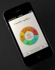 Fancy Spinner Wheel #UI #UX Design concept
