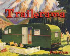 travel trailer cover | Trailerama - $30.00 : atomic ranch:, the midcentury magazine