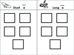 This file contains 5 separate activities for students to practice listening for and identifying long and short vowels.  Use for a Literacy Workstat...