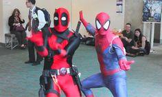 Because Deadpool that's why!!! - Imgur ~ HAHAHAHAHA! I Love this!