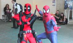Because Deadpool that's why!!! - Imgur ~ HAHAHAHAHA! I Love this!