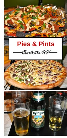 One of my favorite places to eat and drink in downtown Charleston, WV, is the awesome Pies & Pints with the most delicious choices of pizza, amazing appetizers, and craft beers & ciders.