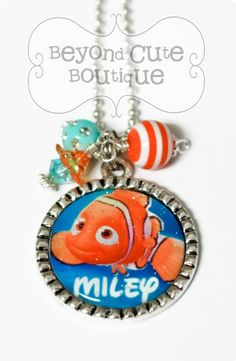Personalized DISNEY Finding NEMO bezel by BeyondCuteBoutique, $14.99