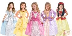 Disney Inspired Princess Dress Up Set  #Disney #princess #costume