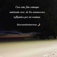 ❄️ Fría estampa de nieve ❄️ es un poema, unos cuantos versos liberados sobre la desesperación humana. La tristeza que aflora en ocasiones. Cold, Verses, Poems, Snow