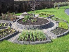 Дизайнерский огород. | Дачный сад и огород