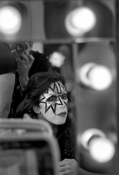 Ace Frehley ~ Alive! Tour ~  Hulman Civic University Center ~  Terre Haute, Indiana, November 21, 1975 ~ Photographer Waring Abbott