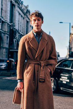 January 2016 Tags London, Model Off Duty, Models, Coats, Men's
