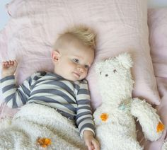 He's Here!  He's Here   Tap the pic and get this cuddly fuzziness shipped to your door! NouNou and his matching Blanket are ready to snuggle.   #blablakids #bear #natural @babysfirstbear