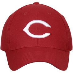 Cincinnati Reds American Needle Cooperstown Fitted Hat - Red