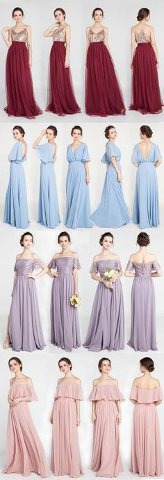 trending bridesmaid dresses on a budget