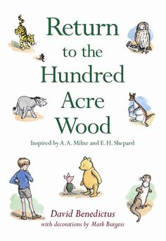 "The new Winnie-the-Pooh book ""Return to the Hundred Acre Wood"""