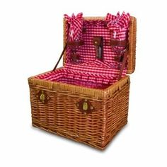 Wedding gift:Picnic Time Chardonnay Basket with Wine Service for Two