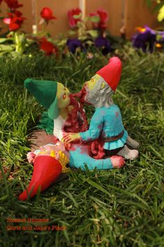Zombie Gnomes Love a la carte FREE USA by ChrisandJanesPlace, $55.99
