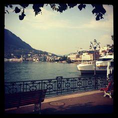 Lugano em Tessin, Suíça