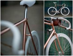 Obsession of the day: Copper Bike by Olsthoorn Cycles