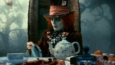Love this Royal Copenhagen teapot! Alice in Wonderland's Teapot Gets a Reprise in Oz The Great and Powerful | Articles #ozthegreatandpowerful #Disney #DisneyOz