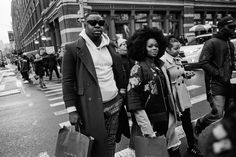 """""""I'm not really interested in color,"""" said Andre Wagner, a Brooklyn photographer who specializes in street style."""