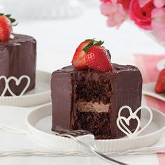 Chocolate Bombe Cake - chocolate cake, chocolate mousse, and ganache!! Paula Deen recipe