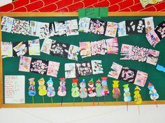 Winter class board-preschool