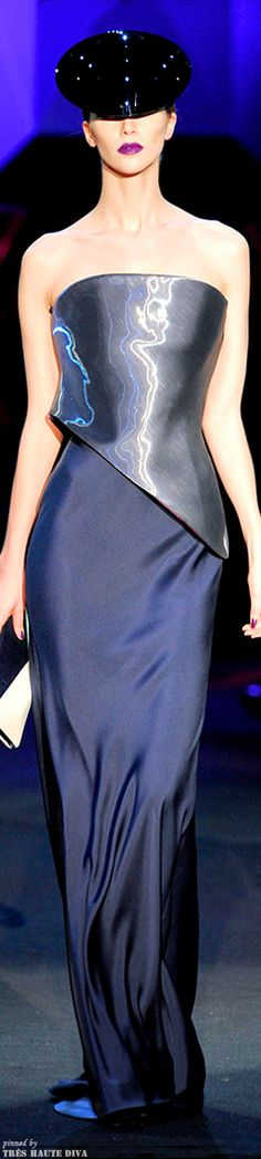 Armani Privé Spring 2011 Couture | The House of Beccaria~