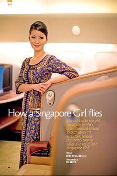 Singapore Girl (Singapore Airlines cabin crew) #SIA #sq #cabincrew