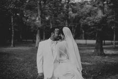 Bride Groom black & white Bridal portraits. Lauren + AJ Backyard Indie Bohemian Long Island DIY Wedding. Dress and veil: Lindsey Thornburg. Shoes: Raphaella Booz. Photographer: Chellise Michael Photography in Brooklyn, NYC