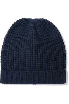 cdf5c91478d MADELEINE THOMPSON Holby waffle-knit cashmere beanie Cashmere Beanie