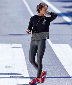 Chic to #Gym   A peça certa para um momento #fitness! #StreetStyle #WhoWhatWear