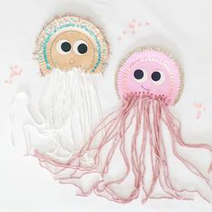 "ELISABETH + FAITH on Instagram: ""If a jellyfish was whimsical.......✨🤍✨ We had so much fun with these! This past week we were reminiscing about our summer visits to the…"""