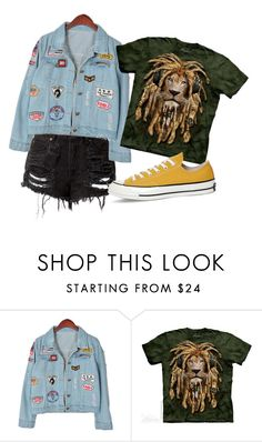 """""""Untitled #871"""" by danielle1589d ❤ liked on Polyvore featuring Chicnova Fashion and Converse"""